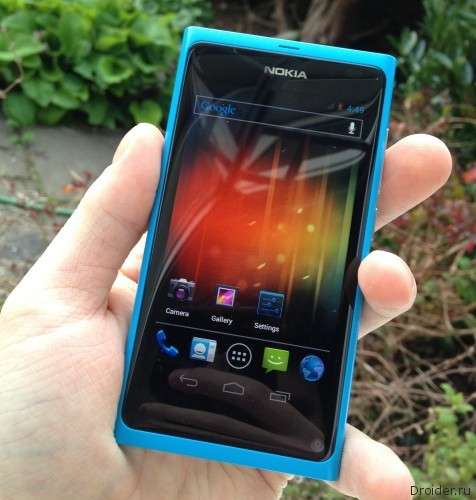 Nokia N9 на Android!