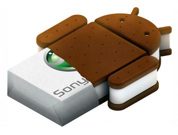 Android 4.0 на Sony Xperia